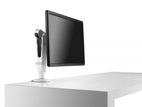 Brazo porta monitor Ollin, brazo para monitor, soporte de monitor, soporte para monitor, brazo articulado para monitor, soporte articulado para monitor, accesorios para oficinas