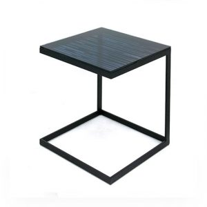 Mesa Klip Side de Glassisimo, mesas laterales, mesas de cristal, muebles con vidrio, mesas con vidrio, muebles para sala, muebles para recepciones, mesas finas para casa, mesas finas para hogar.
