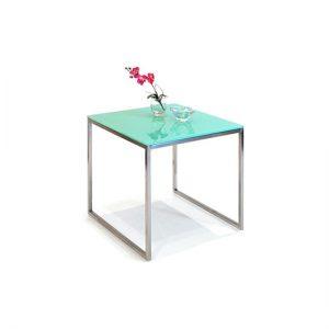 Mesa Kubus Side de Glassisimo, mesas laterales, mesas de cristal, muebles con vidrio, mesas con vidrio, muebles para sala, muebles para recepciones, mesas finas para casa, mesas finas para hogar.
