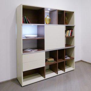 Librero Mundial, librero de madera, librero con iluminación, librero para casa, librero para oficina, muebles para casa, muebles para el hogar, muebles para oficinas