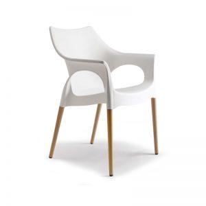 Silla Ola Natural de Labenze, sillas para comedor, sillas para casa, sillería para casa, muebles para casa, sillas para proyectos comerciales, sillas finas, sillas italianas.