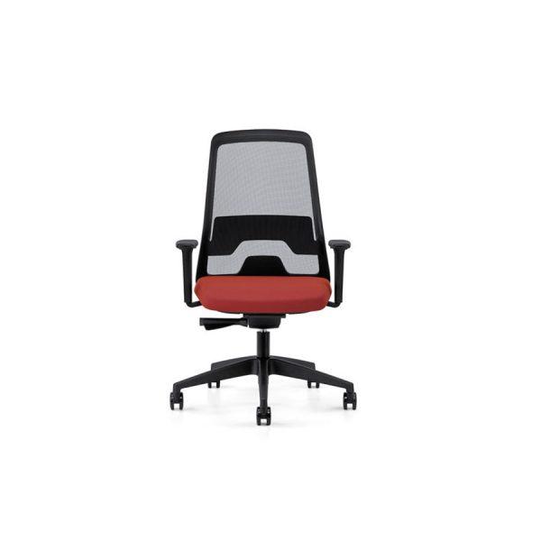EVERYis1, silla operativa para oficina, sillas de Interstuhl, sillería operativa para oficina, sillas tapizadas en malla y tela, sillería tapizada en malla y tela