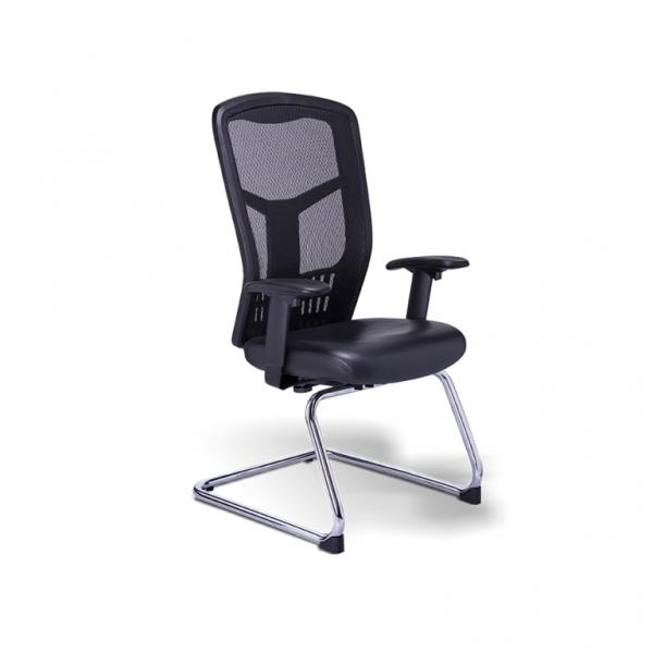 Silla RP-4505, sillas para oficina, sillería para oficina, sillas para visita, sillas tapizadas en piel y malla, sillería para visitas, sillería tapizada en piel y malla, sillas cómodas, sillas ergonómicas