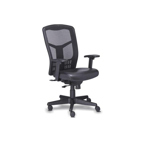 Silla RP-4501 de Requiez, sillas para oficina, sillería para oficina, sillas gerenciales, sillas tapizadas en piel y tela mesh, sillería gerencial, sillería tapizada en piel y tela mesh, sillas con certificación para oficinas, sillería con certificación para oficinas, sillas cómodas, sillas ergonómicas