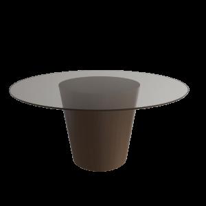 Mesa Alma de Muebles Cook, mesas para comedor, mesas con cubierta de cristal, mesas minimalistas, mesas modernas, mesas para comedor, muebles finos, muebles con cristal.
