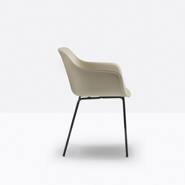 Silla Babila XL 2734 de Pedrali, sillas italianas, silla diseñada por Odo Fioravanti, sillas para hogar, muebles para hogar, sillas para comedor, muebles de Pedrali