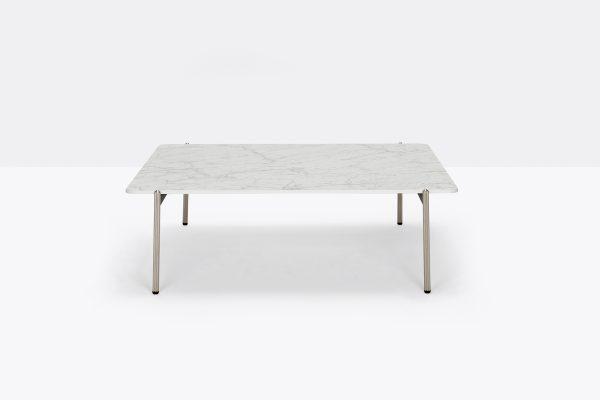 Mesa Blume 99x99 de Pedrali, Mesas italianas, mesa diseñada por Sebastian Herkner, mesas de centro, mesas para hogar, muebles de Pedrali, mesas Pedrali