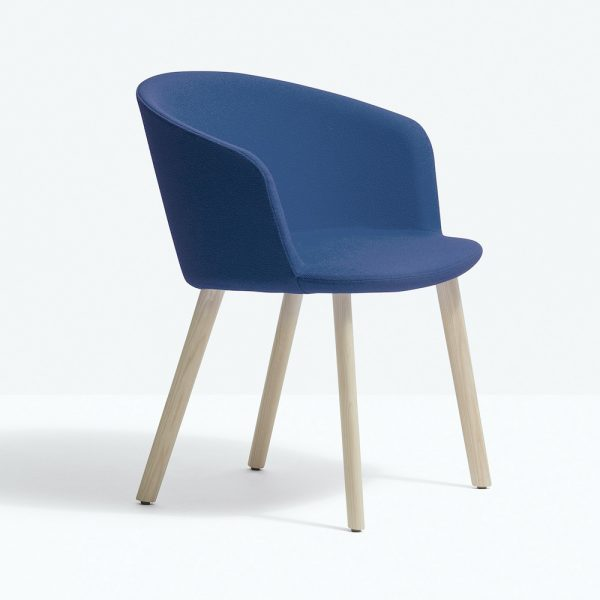 Sillón Nym Soft 2837 de Pedrali, sillones italianos, sillón diseñado por CMP Design, sillones para hogar, muebles para hogar, sillones para comedor, muebles de Pedrali, sillón de una plaza