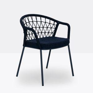 Silla Panarea de Pedrali, sillas italianas, silla diseñada por CMP Design, sillas para exteriores, sillas para hogar, muebles para hogar, muebles para jardín y terrazas, muebles de Pedrali, muebles para exteriores