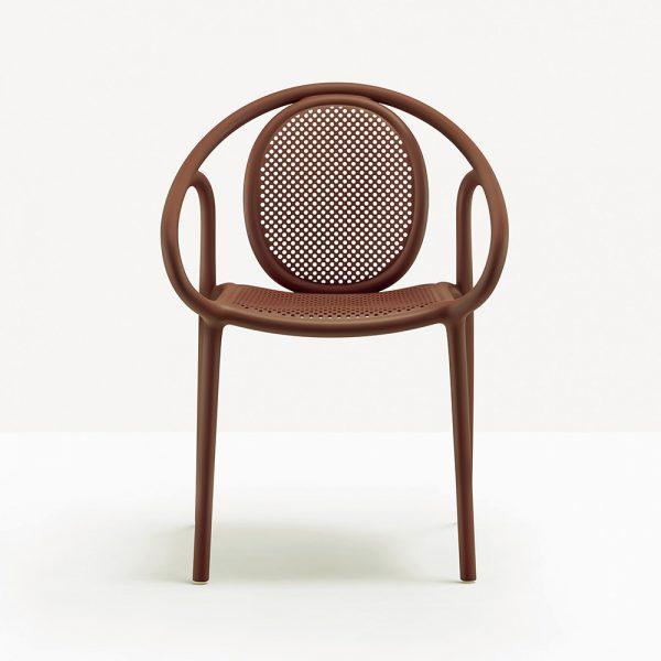 Silla Remind 3735 de Pedrali, sillas italianas, silla diseñada por Eugeni Quitllet, sillas para exteriores, sillas para hogar, muebles para hogar, muebles para jardín y terrazas, muebles de Pedrali