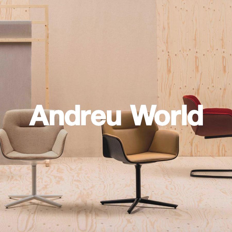 Andreu World México CDMX Muebles Cook Contract