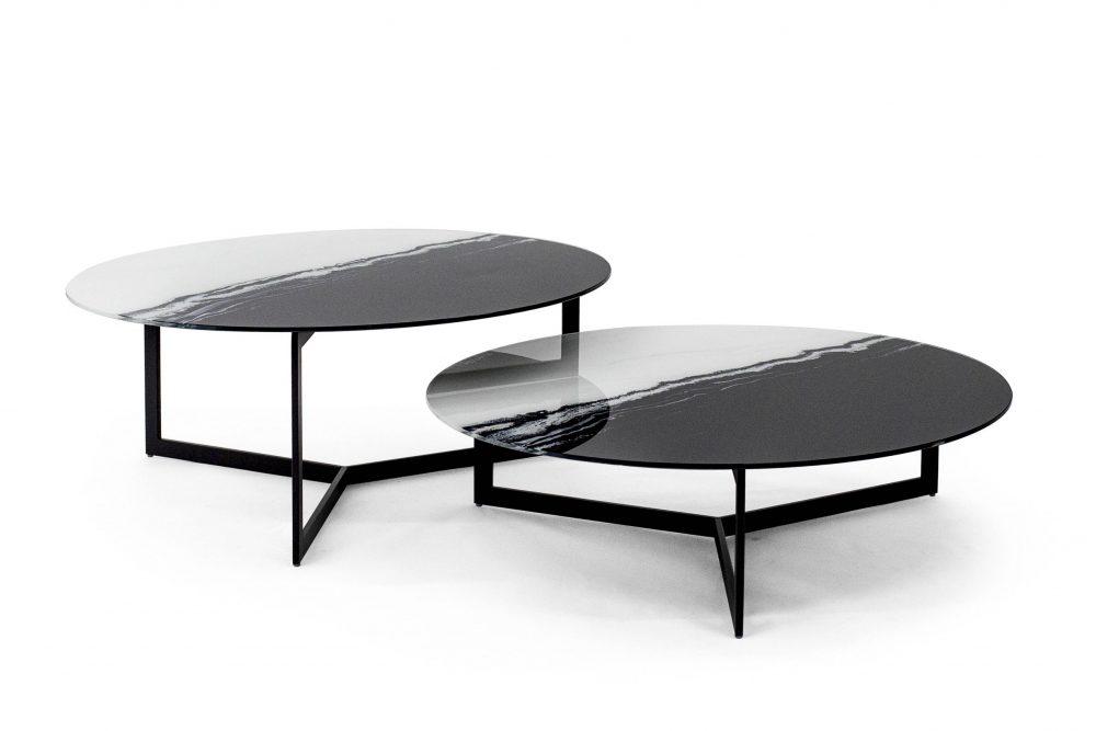 Mesa Drei de Glassísimo, mesas de centro, mesas de cristal, muebles con vidrio, mesas con vidrio, muebles para sala, muebles para recepciones, mesas finas para casa, mesas finas para hogar.