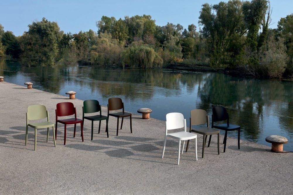 Piazza - sillas de exterior
